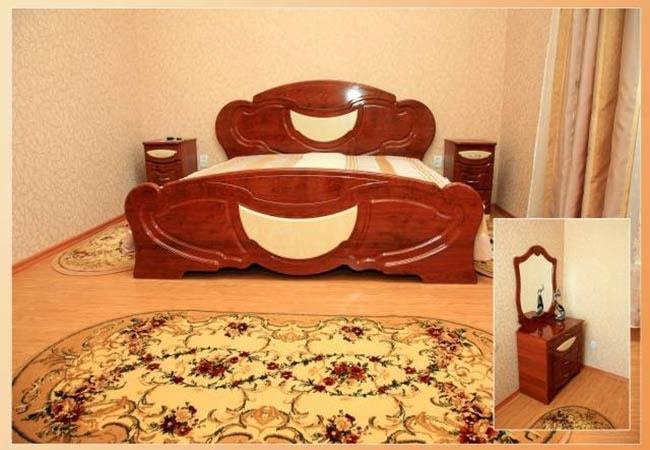 Санаторий радон Хмельник Фото - Номер Radon VIP (3-й корпус) - Кровать.