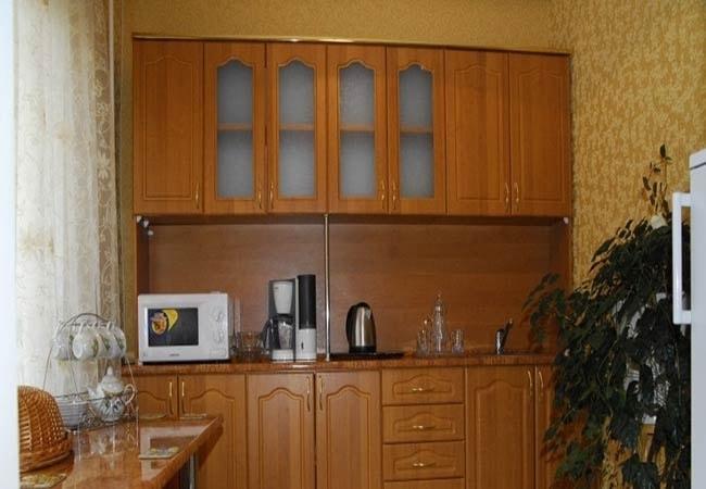Санаторий Хмельник Профсоюзный Фото - Апартаменты с кухней - Кухня.