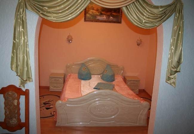Санаторий Подолье Хмельник Фото - Номер Апартаменты 3-комнатные - Кровать.