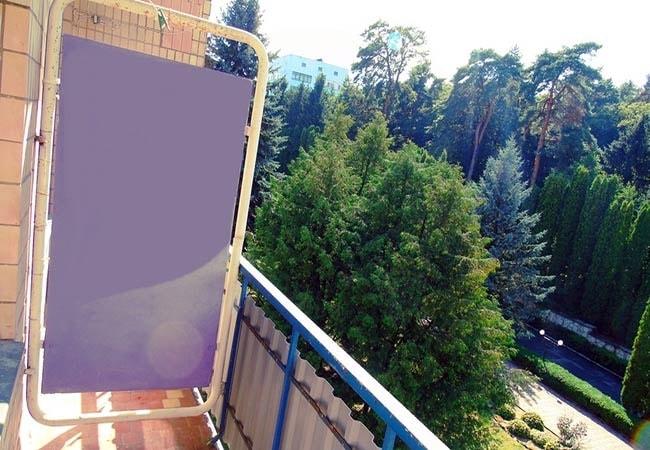 Санаторий Хмельник Профсоюзный Фото - Номер Эконом 1-комнатный 2-местный корпус №9 - Балкон.
