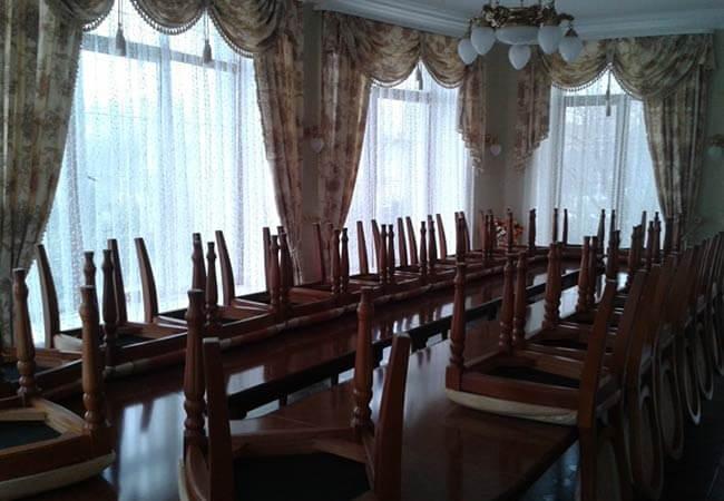 Санаторий имени Гоголя Фото - Апартаменты в коттедже - Столовая.
