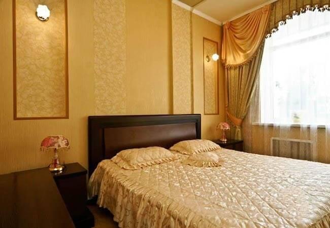 Санаторий Миргород Фото - Номер Люкс 2-комнатный 2-местный - Кровать.
