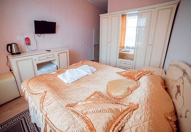 Санаторий Подолье Хмельник Фото - Номер Люкс 1-комнатный - Кровать.