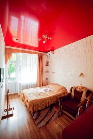 Санаторий Подолье Хмельник Фото - Номер Люкс 1-комнатный - Кровать в спальне.