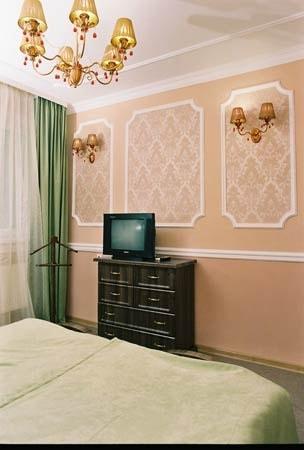 Санаторий Подолье Хмельник Фото - Номер Люкс с камином - Спальная Комната.