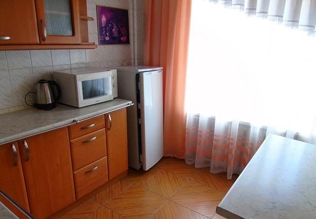 Санаторий Хмельник Профсоюзный Фото - Люкс с кухней 2-комнатный 2-местный - Кухня.