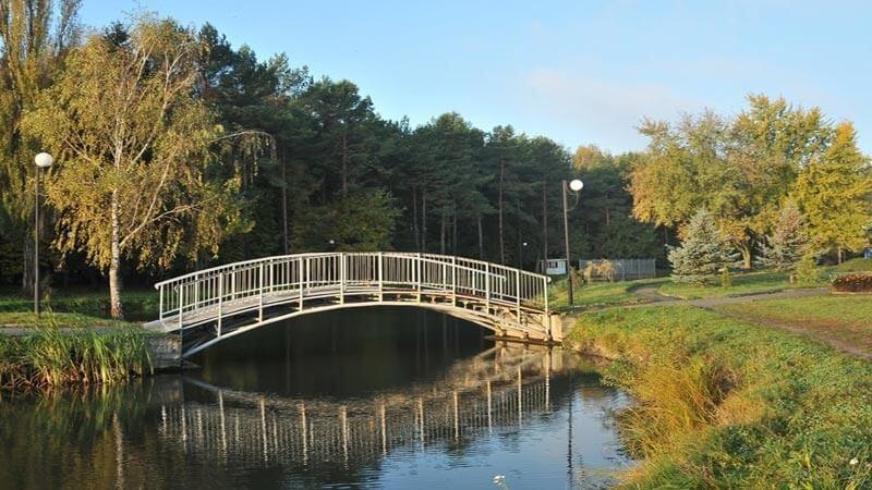Мост в Хмельнике.
