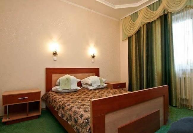Санаторий Хорол Миргород Фото - Номер Однокомнатный двухместный - Спальня.