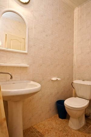 Санаторий Хорол Миргород Фото - Номер Одноместный стандарт улучшенный - Ванная.