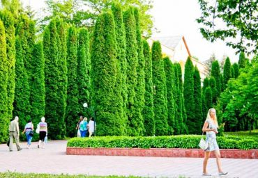 Парк Хмельника.
