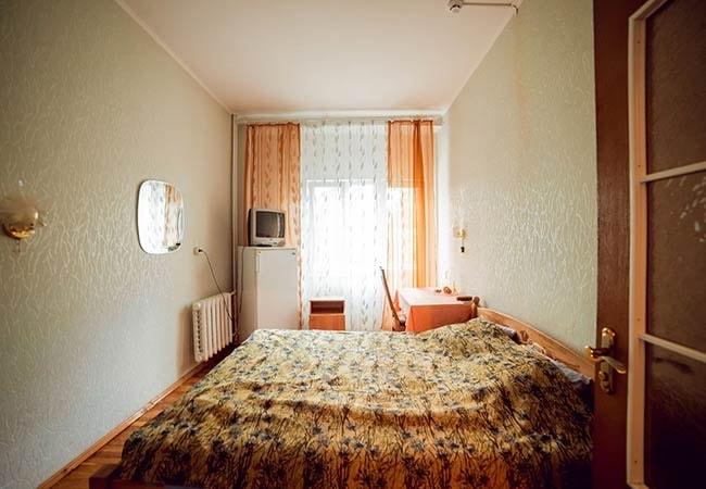 Санаторий Подолье Хмельник Фото - Номер Полулюкс 1-комнатный - Спальня.