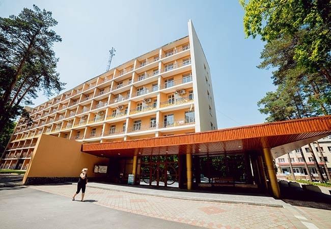 Санаторий Подолье Хмельник Фото - Главный Корпус.