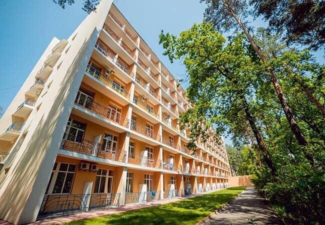 Санаторий Подолье Хмельник Фото - Корпус.