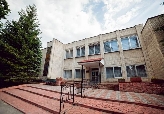 Санаторий Подолье Хмельник Фото - здание на территории