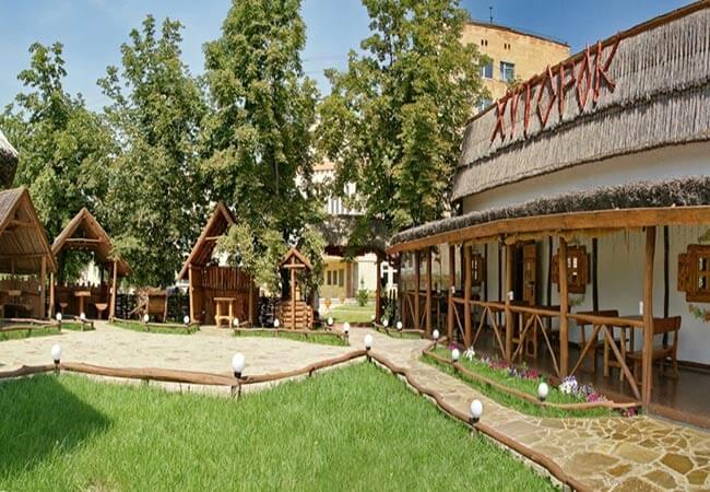 Санаторий МВД Миргород Фото - Кафе.