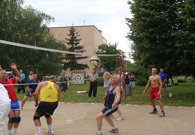 Санаторий МВД Миргород Фото - Волейбол.