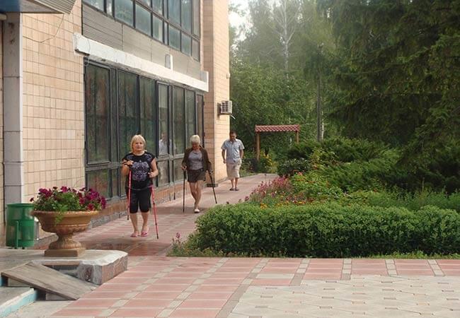 Санаторий МВД Миргород Фото - Скандинавская Ходьба.
