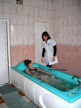 Санаторий имени Гоголя Фото - Процедуры.