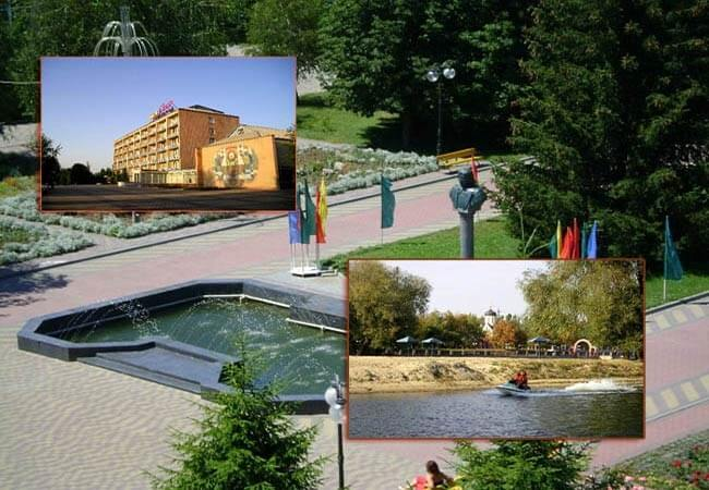 Санаторий имени Гоголя г. Миргород Фото