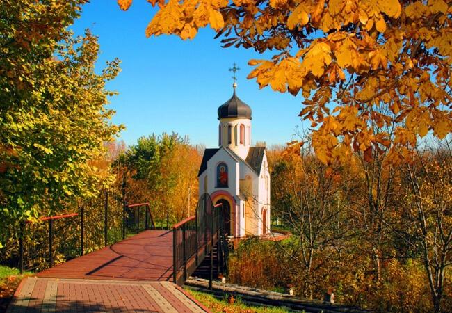 "Санаторий ""Гоголя"" Миргород Фото - Церковь."