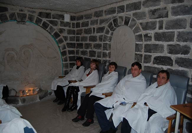 Санаторий Хорол Миргород Фото - Соляная пещера.