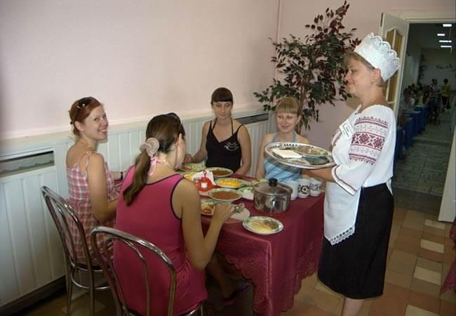 Санаторий Хорол Миргород Фото - Прием Пищи.