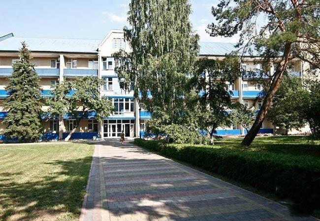 Санаторий Хорол Миргород Фото - Территория.