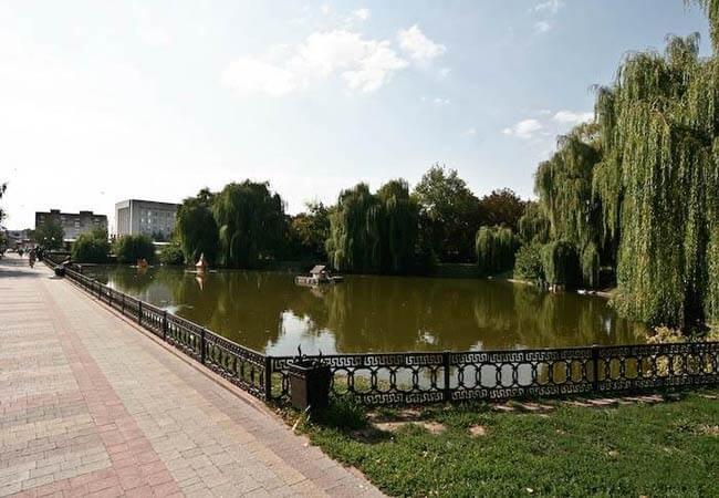 Санаторий Хорол Миргород Фото - Озеро.