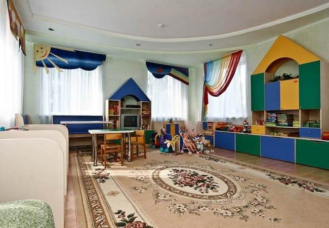 Санаторий Хорол Миргород Фото - Комната для детей.