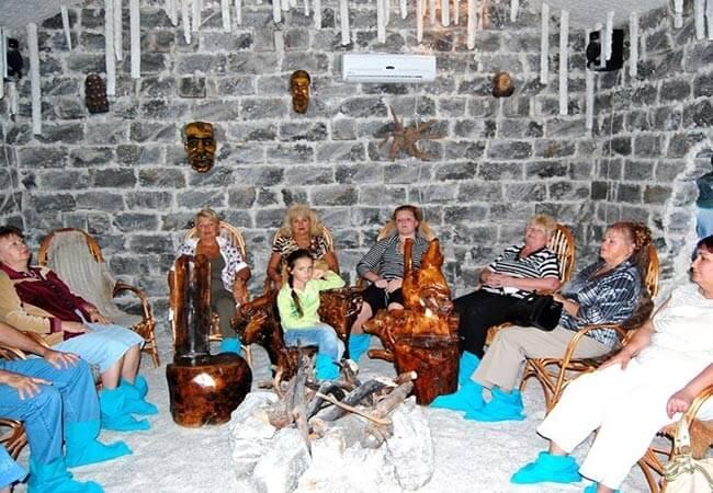 Соляная Пещера в Миргороде.