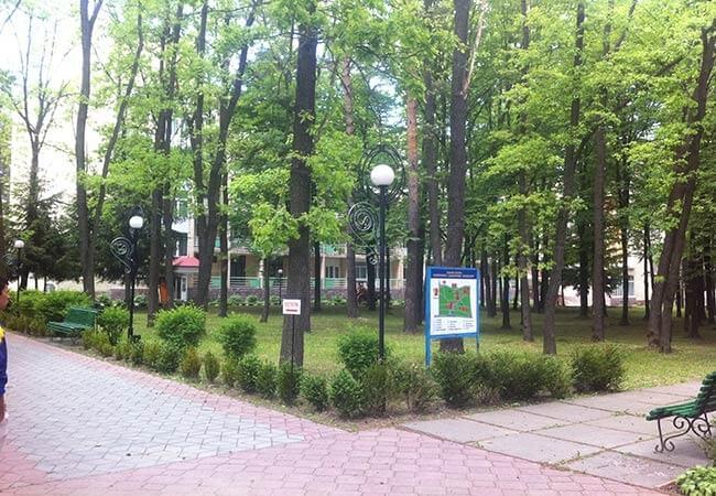 Санаторий Премиум Подолье Фото - Парковая Территория.