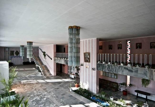 Санаторий Полтава Миргород Фото - Холл.