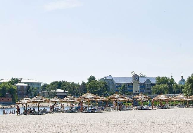 Санаторий Полтава Миргород Фото - Пляж.