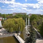 Санаторій Полтава Миргород Фото - Фонтан.