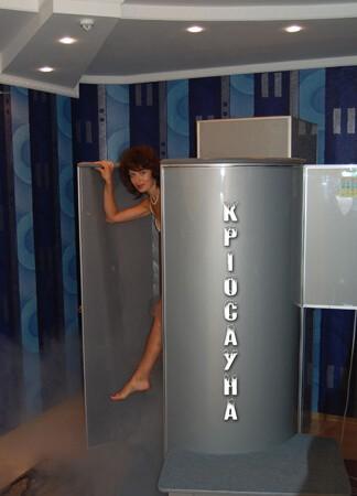 Санаторій Полтава Миргород Фото - Криосауна.
