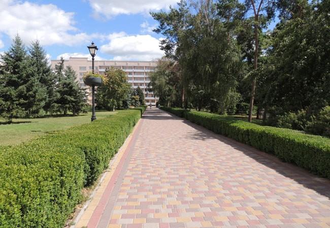 Санаторій Полтава Миргород Фото - Алея.