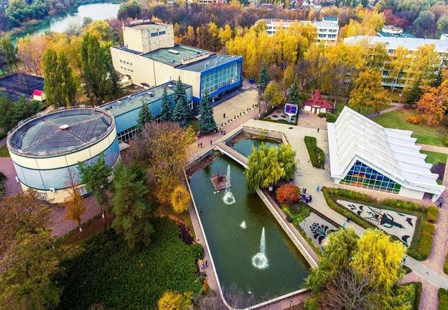 Санаторій Полтава Миргород Фото - Вид с верху.