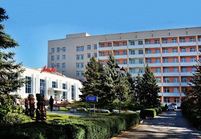 Санаторій Полтава Миргород Фото - Корпус.