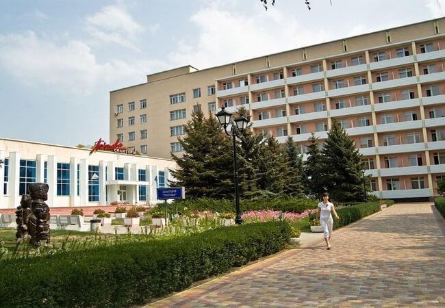 Санаторій Полтава Миргород Фото - Вход