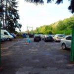 Санаторий Хмельник Профсоюзный Фото - парковка.