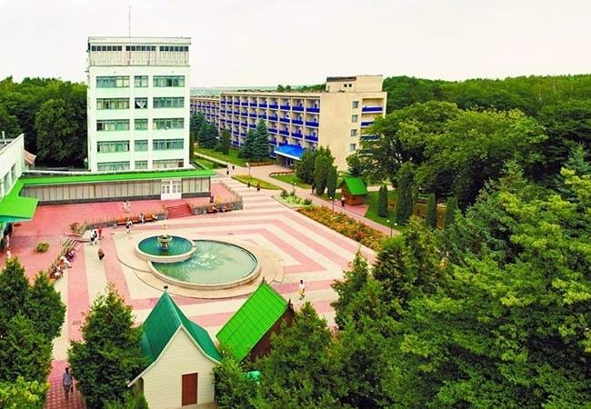 Санаторий Хмельник Профсоюзный Фото - Корпус.
