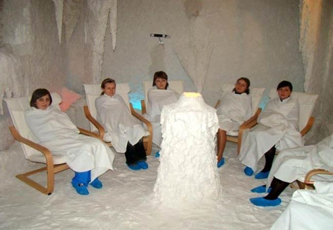 Санаторий Южный Буг Фото - Соляная Пещера.