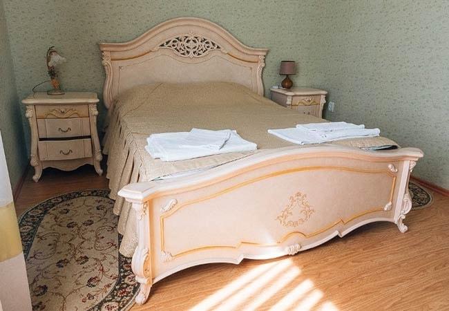 Санаторий радон Хмельник Фото - Номер Standart 1-й корпус - Спальня