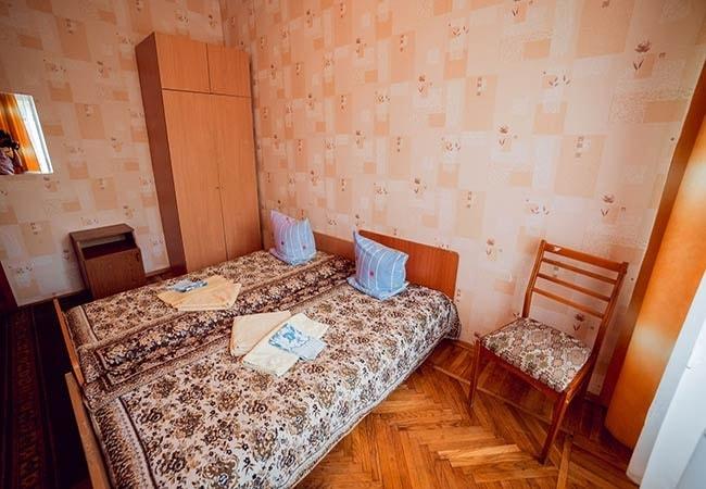 Санаторий Подолье Хмельник Фото - Номер Двухместный Стандарт - Кровать в Комнате.