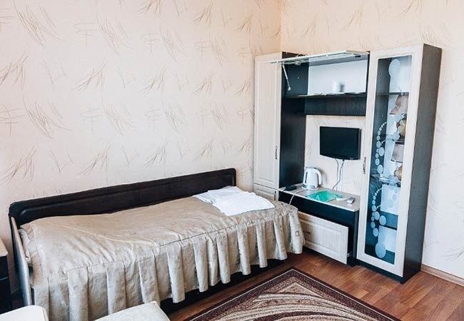 Санаторий радон Хмельник Фото - Номер Twin Корпус 1 - Спальня