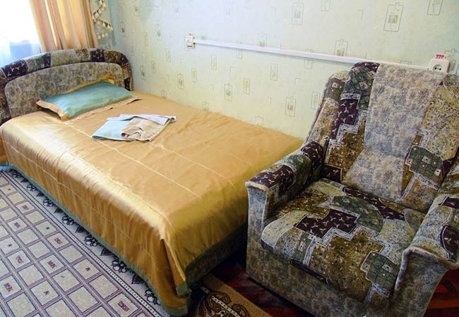 Санаторий Хмельник Профсоюзный Фото - Номер Улучшенный 1-комнатный 1-местный (корпус №4) - Комплектация.
