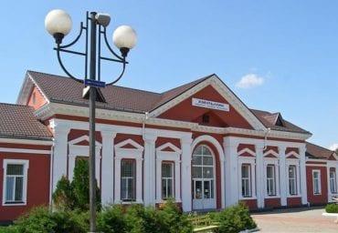 Вокзал Хмельника