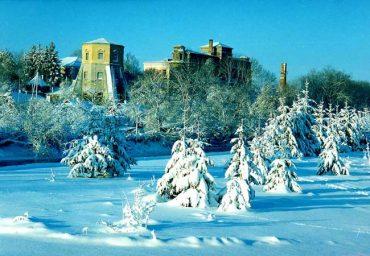 Зима в Хмельнике.