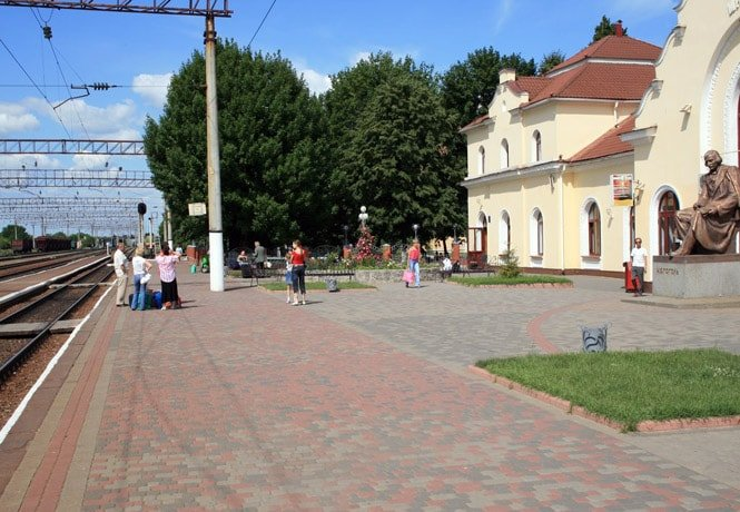 Вокзал Миргорода.