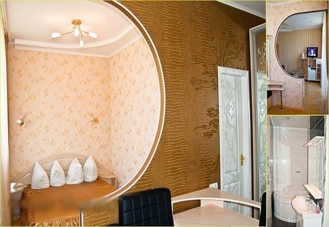 Березовый Гай Миргород Фото - Номер Люкс 1-комнатный - Комната.